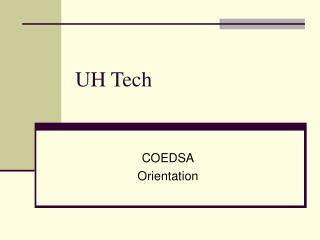 UH Tech