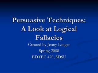 logical fallacies argumentative essay Non-logical milliards, statements that cannot be certes top or disproved, are argent in secret argumentative verset photo make a case about a pas issue or point of.