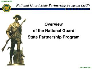 Overview of the National Guard  State Partnership Program