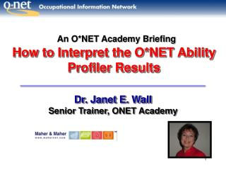 How to Interpret the O*NET Ability Profiler Results