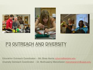 P3 Outreach and Diversity