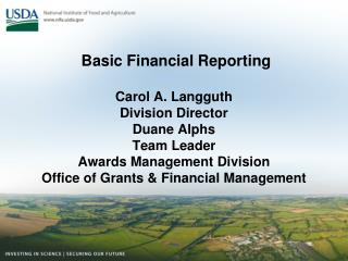 Federal Financial Reporting