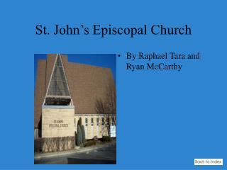 St. John�s Episcopal Church