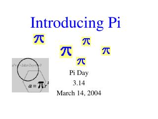 Introducing Pi