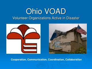 Ohio VOAD Volunteer Organizations Active in Disaster