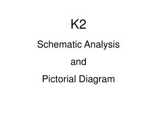 K2 Schematic Analysis and  Pictorial Diagram