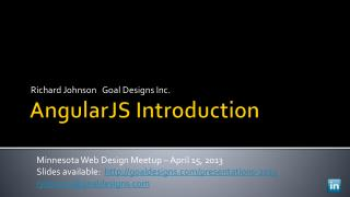 AngularJS  Introduction