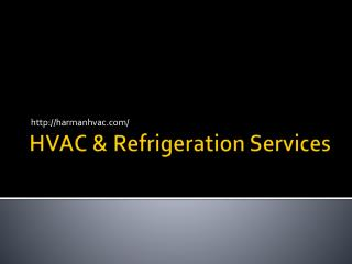 Harman Refrigeration HVAC