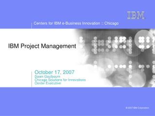 IBM Project Management