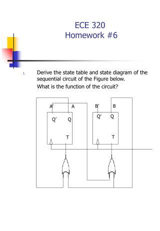 ECE 320   Homework #6