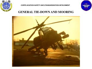 GENERAL TIE-DOWN AND MOORING