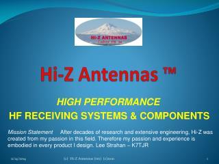 Hi-Z Antennas ™