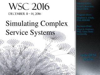 WSC 2016 December 11 – 14, 2016
