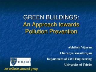 GREEN BUILDINGS: An Approach towards Pollution Prevention