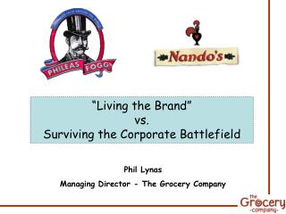 Living the Brand  vs. Surviving the Corporate Battlefield