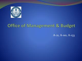 Office of Management & Budget