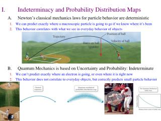 I.	Indeterminacy and Probability Distribution Maps