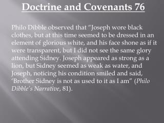Doctrine and Covenants 76