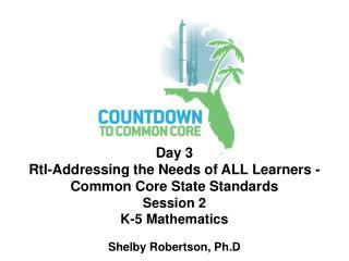 Shelby Robertson, Ph.D