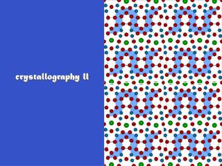 crystallography ll