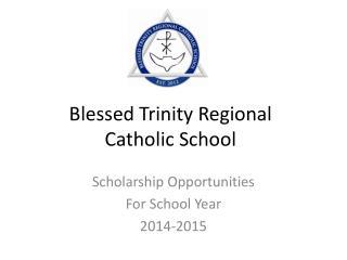 Blessed Trinity Regional  Catholic School