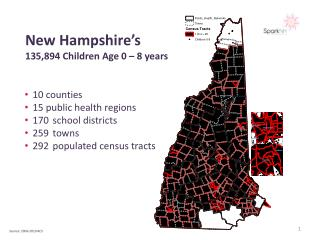 New Hampshire's 135,894 Children Age 0 – 8 years