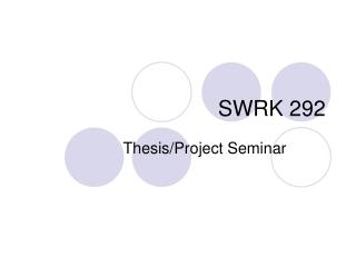 SWRK 292