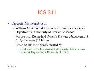 ICS 241