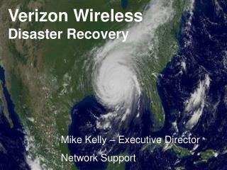 Verizon Wireless Disaster Recovery