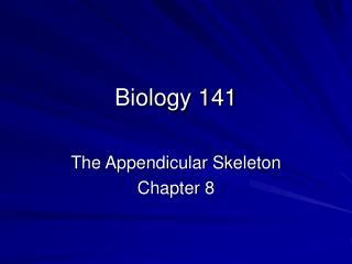 Biology 141