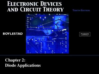 Chapter 2: Diode Applications