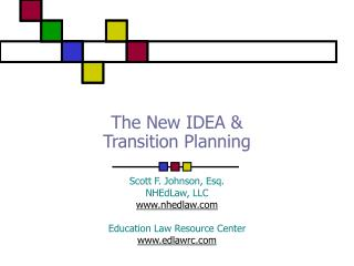 The New IDEA &  Transition Planning