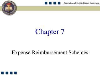 Expense Reimbursement Schemes