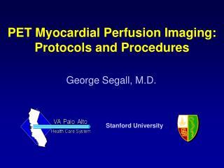 George Segall, M.D.