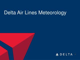 Delta Air Lines Meteorology