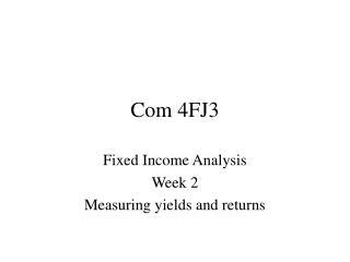 Com 4FJ3