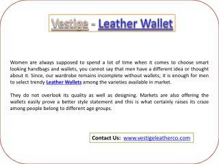 Vestige - Cheap Leather Wallet