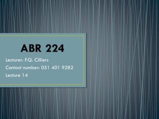ABR 224