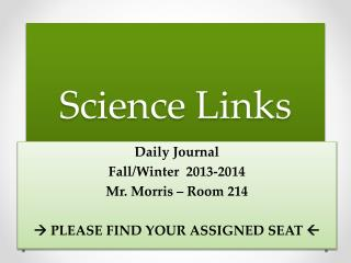 Science Links
