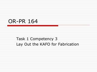 OR-PR 164