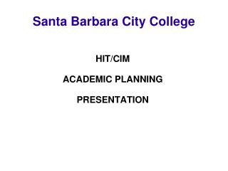 Santa Barbara City College