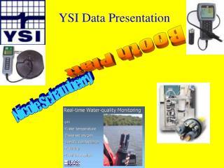 YSI Data Presentation