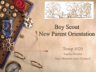 Boy Scout  New Parent Orientation