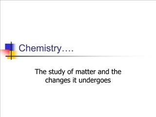 Chemistry .