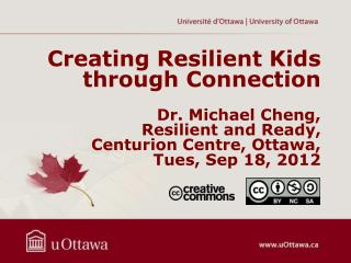 Creating Resilient Kids through Connection