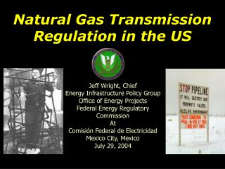 Natural Gas Transmission Regulation in the US