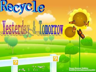 Yesterday & Tomorrow