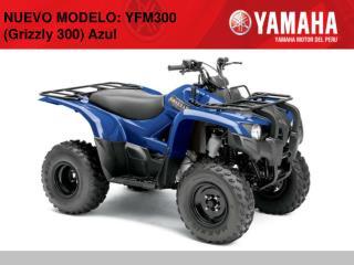 NUEVO MODELO: YFM300 (Grizzly 300) Azul