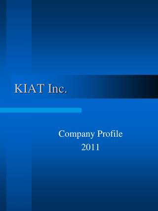 KIAT Inc.
