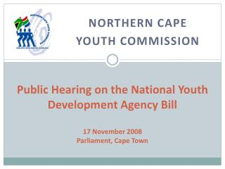 Northern Cape  Youth Commission